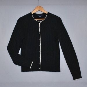 Ann Taylor Cashmere Cardigan Sweater Size Small